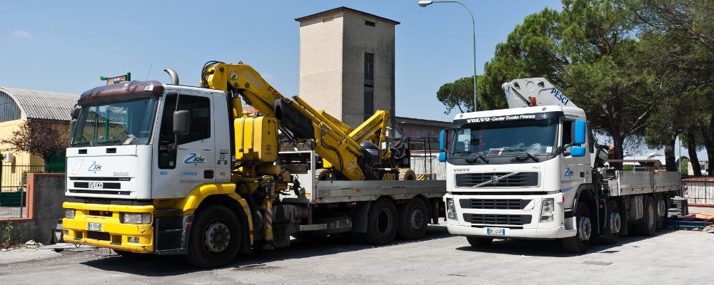Camion gru pesci + Camion gru fassi